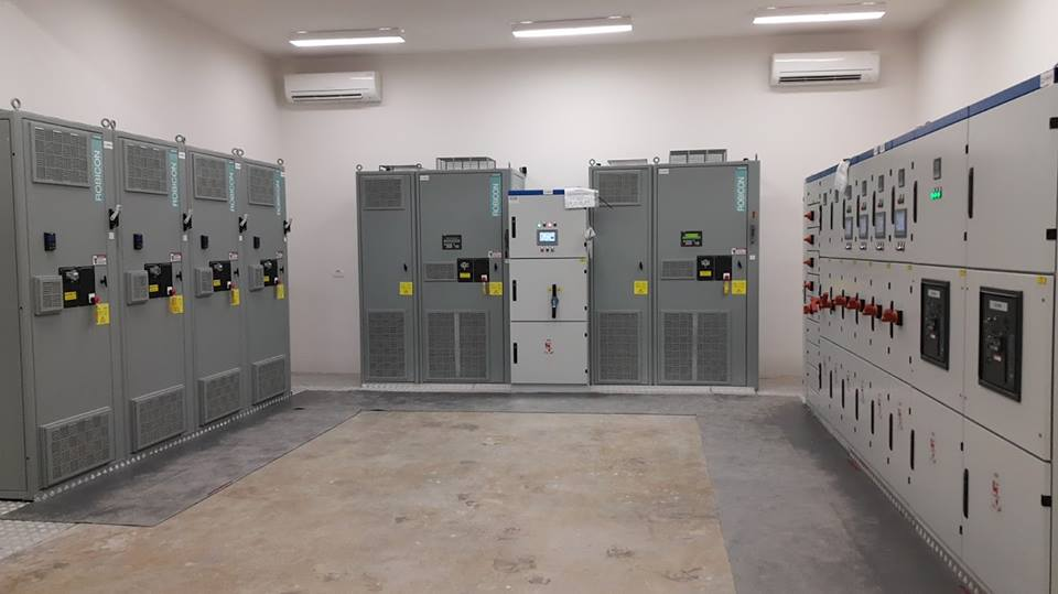 Electrical panels and VFDs